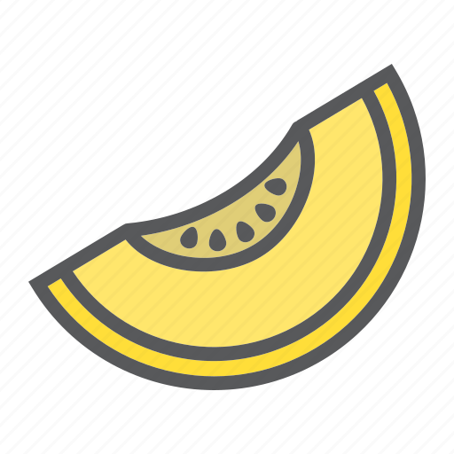 diet, food, fresh, fruit, healthy, melon, vegetarian icon