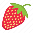 diet, food, fresh, fruit, healthy, strawberry, vegetarian icon