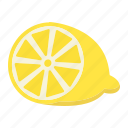 diet, food, fruit, healthy, lemon, vegetarian, vitamin icon
