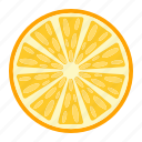 diet, food, fruit, healthy, orange, vegetarian, vitamin icon