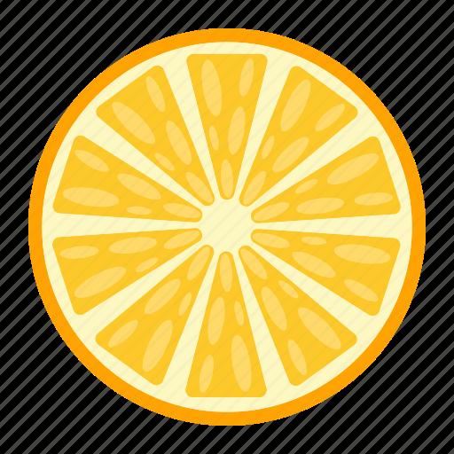 diet, food, fruit, healthy, orange, vegetarian, vitamin icon