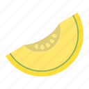 diet, food, fresh, fruit, healthy, melon, vegetarian icon