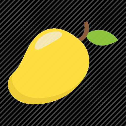 diet, food, fruit, healthy, mango, tropical, vegetarian icon