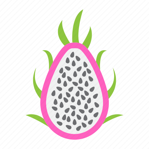 diet, dragon, food, fruit, pitaya, tropical, vegetarian icon