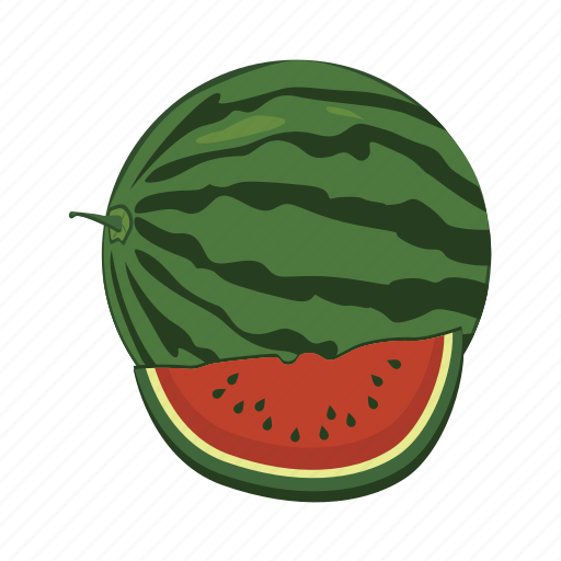 food, fruit, health, melon, sweet, watermelon icon