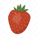 berry, food, fruit, health, stawberry, sweet icon
