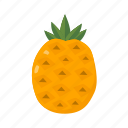 food, fruit, health, juice, pineapple, sweet, tropical icon