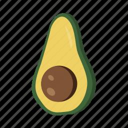 avocado, food, fruit, health, sweet icon