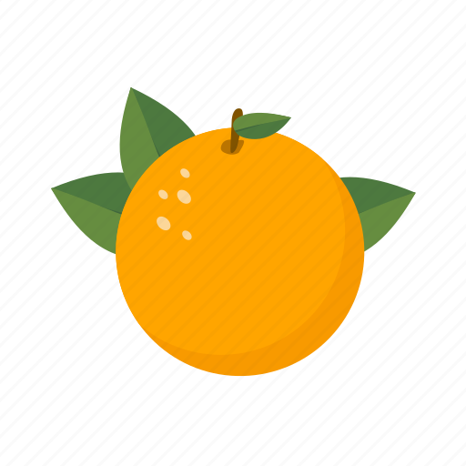 food, fruit, health, orange, sweet icon