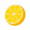 food, fruit, health, lemon, sweet icon