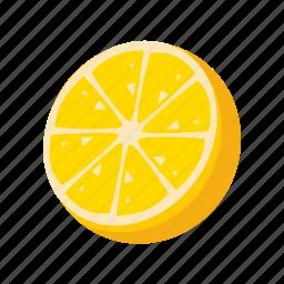 food, fruit, health, lemon, sweet icon