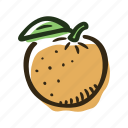 food, fruit, juice, orange, plantation, tree, tropical icon