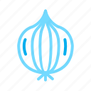 food, healthy, onion, vegetable icon