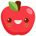 avatar, cartoon, character, cute, fresh, fruit icon