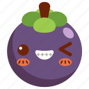 avatar, cartoon, character, cute, fresh, mangosteen icon