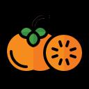 food, fruit, vegetable, vegetarian, organic, persimmon
