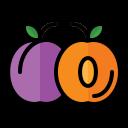 food, fruit, vegetable, vegetarian, organic, plum
