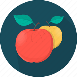 apple, cooking, food, fruit, kitchen, meal, plant icon