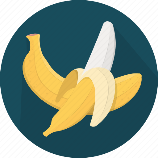 banana, cooking, food, fruit, kitchen, meal, plant icon