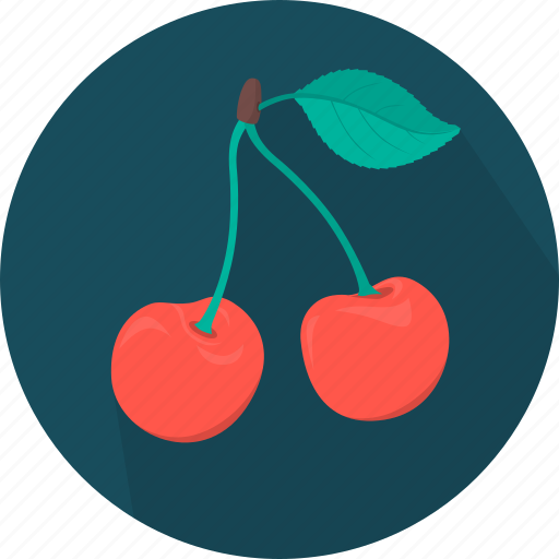 cherries, cooking, food, fruit, kitchen, meal, plant icon