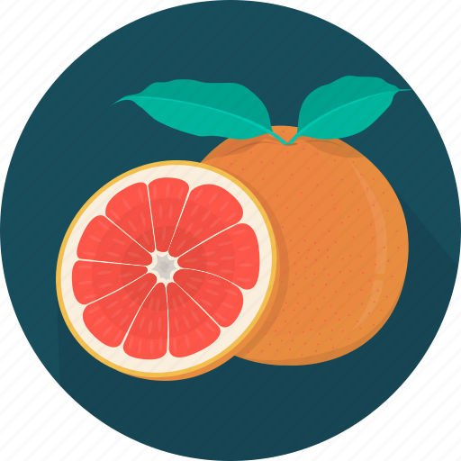 cooking, food, fruit, grapefruit, kitchen, meal, plant icon