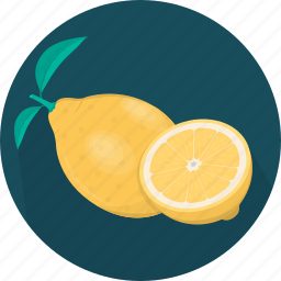 cooking, food, fruit, kitchen, lemon, meal, plant icon