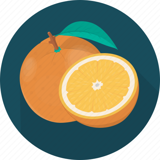 cooking, food, fruit, kitchen, meal, orange, plant icon