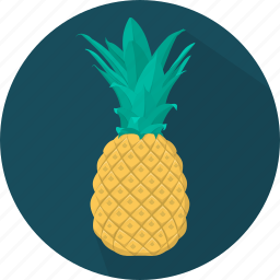 cooking, food, fruit, kitchen, meal, pineapple, plant icon