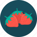 cooking, food, fruit, kitchen, meal, plant, strawberry icon