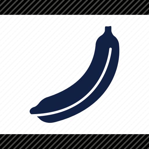 banana, banana fruit, food, fresh, fruit, healthy, sweet icon