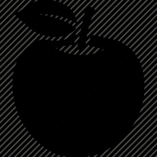 alphabet, apple, food, fruit, health, healthy, red icon