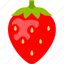 berry, dessert, flavor, flavour, fruit, strawberry, sweet icon