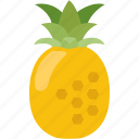 flavor, flavour, fruit, juice, pineapple, sweet, tropical icon