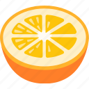 citrus, fresh, fruit, grapefruit, juice, orange, squeezed icon