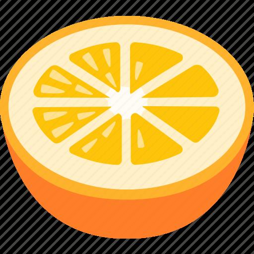 citrus, fresh, fruit, grapefruit, juice, orange, squeezed icon