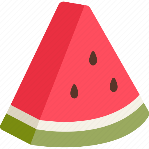 fruit, melon, snack, summer, sweet, water, watermelon icon