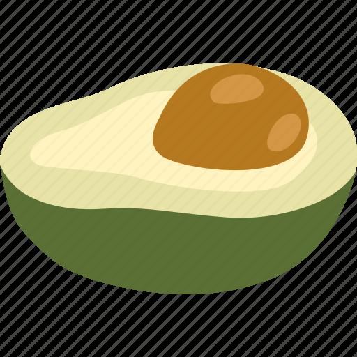 alligator, avocado, choquette, fruit, hass, pear icon