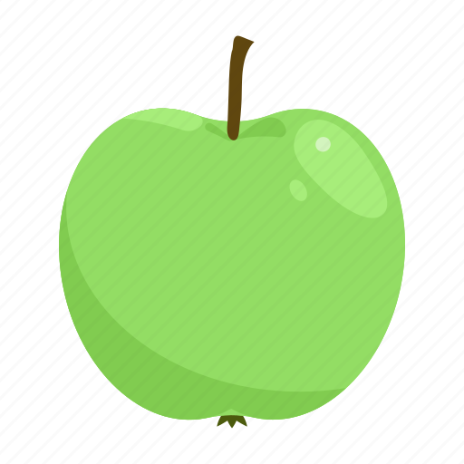 apple, fruit mix, fruits, green, raw food, vegetarian, vitamins icon