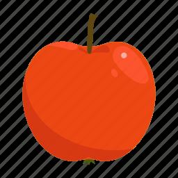 apple, fruit mix, fruits, raw food, red, vegetarian, vitamins icon