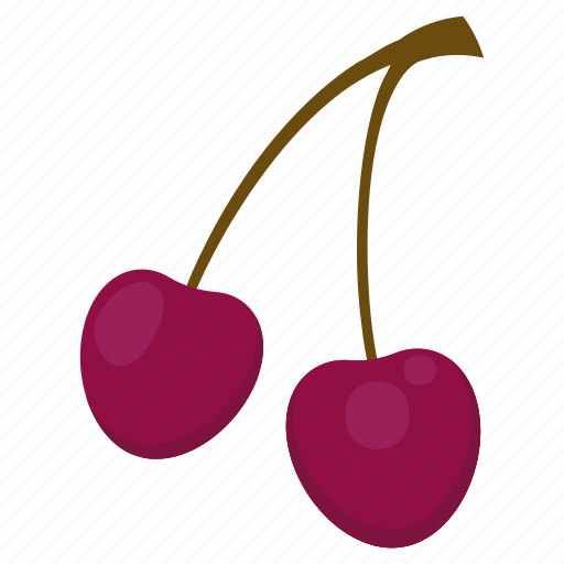 cherry, cherry-tree, fruit mix, fruits, raw food, vegetarian, vitamins icon