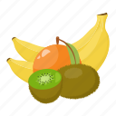 citrus, fruit, fruit mix, fruits, green, orange, yellow icon