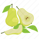 fruit, fruit mix, pear, vegetarian, vitamins icon