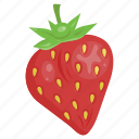 dessert, fruit mix, fruits, fuit, red, strawberry, vitamin icon