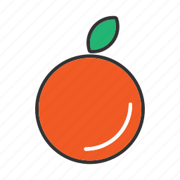 collection, food, fresh, fruit, fruits, health, orange icon