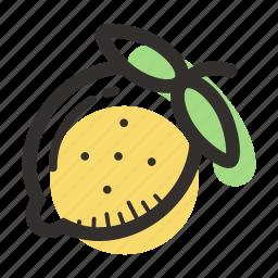 food, fruit, health, juice, lemon, sour, tropical icon