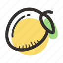 food, fruit, healthy, juice, mango, sweet, tropical icon