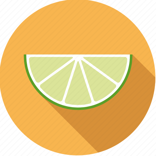 citrus, food, fresh, fruit, lime, slice icon