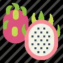 food, dragon, fresh, fruit, tropical icon