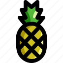 food, fresh, fruit, healthy, organic, pineapple, tropical