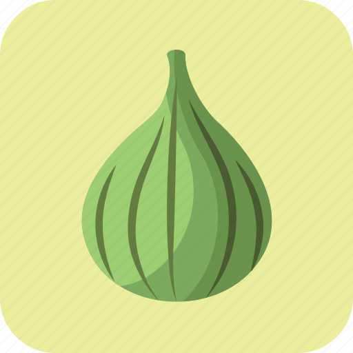 fig, food, fruit, green, nutrition, summer, vegetarian icon